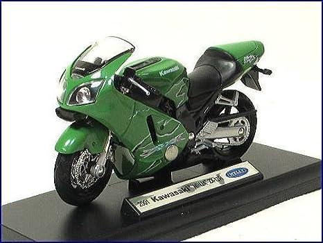WELLY-2001 Kawasaki Ninja Kawasaki Ninja ZX-12R-1/18 modelo ...