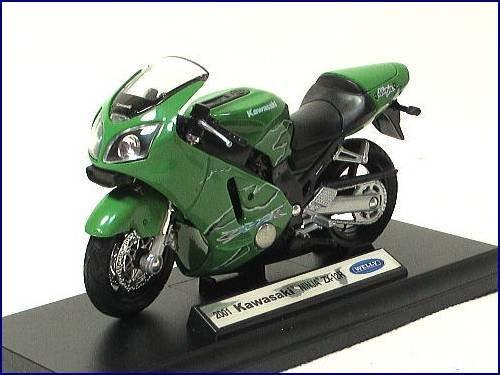 WELLY ž 2001 Kawasaki Kawasaki Ninja NINJA ZX-12R