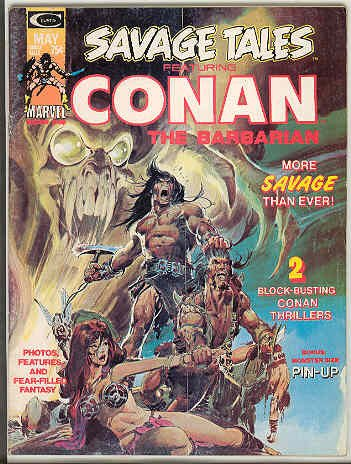 SAVAGE TALES #4 [Featuring Conan the Barbarian]
