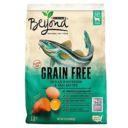 Purina Beyond Grain Free Ocean Whitefish & Egg Recipe Adult Dry Cat Food – 11 lb. Bag