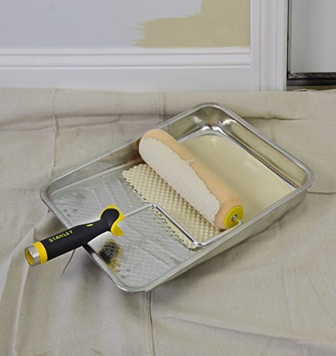 Paint Brush Paint Tray Roller Paint: STANLEY Home Paint Kit Including Tray, Roller, Brush, And