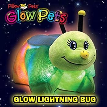 "Pillow Pets Glow Pets Lightening Bug 12"""