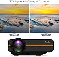 yaufey Mini LED Proyector Multimedia Home Cinema Soporte PC ...