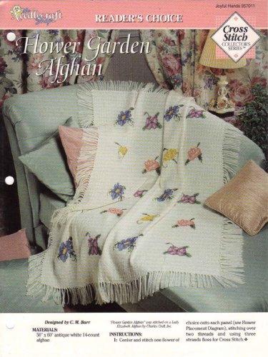 (Flower Garden Afghan Cross Stitch Pattern (Joyful Hands #957011))