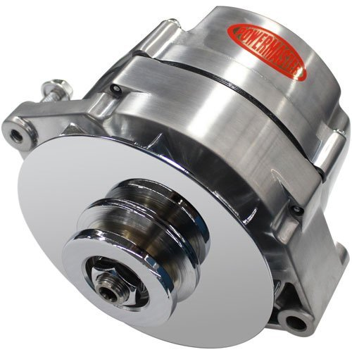 Powermaster Performance 37127-360 Alternator 10si Internally Regulated 100 Amp 70 Idle 1V Brushed Alternator