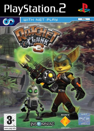 Amazon Com Ratchet Clank 3 Ps2 Video Games