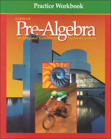 Pre-Algebra: Practice Workbook