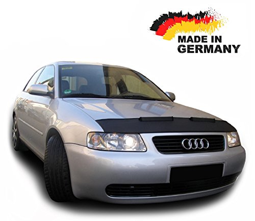Hood Bra for Audi A3 8L Bonnet Car Bra Front End Cover Nose Mask Stoneguard Protector TUNING
