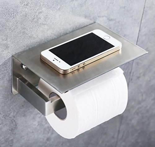 APL Toilet Paper Holder, SUS304 Stainless Steel Bathroom Pap