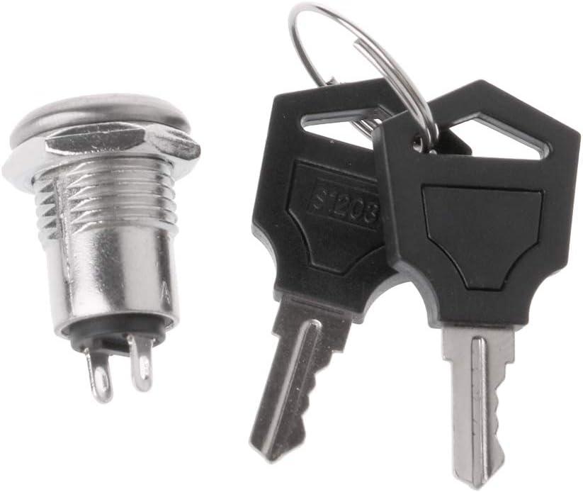 YoungerY Interruptor de Llave Encendido/Apagado Bloqueo S1203 Interruptor de teléfono Seguridad de Seguridad Bloqueos de alimentación con Teclas