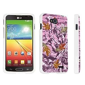linJUN FENGDuroCase ? LG Optimus L90 Hard Case White - (Hunter Camo Lt Pink)