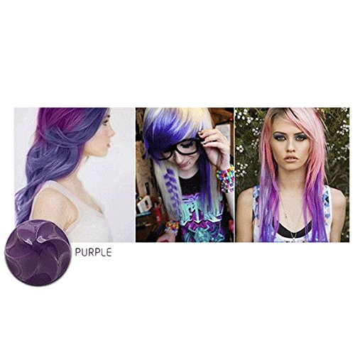 dexer-hair-chalk-pastel-semi-permanent-hair-shadow-colour-dye-temporary-hair-powder-purple