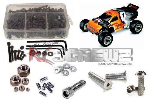 Nitro Rustler Screw - RC Screwz Stainless Steel Screw Kit for Traxxas Nitro Rustler 2.5 #tra006