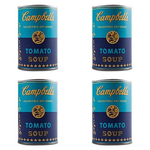 Figure Vinyl Kidrobot (Set of 4 Blind Box Andy Warhol Campbell's Soup Can Vinyl Series Figures Kidrobot)