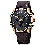 Calvin Klein  Men's City Watch - K2G276G3 Cool Grey/Brown One Size