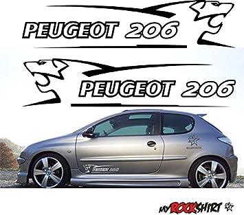 Bonus Testaufkleber Estrellina-Gl/ückstern /® gedruckte Montageanleitung von myrockshirt waschanlagenfest, Because-107-2-Windscreen-Aufkleber-Pug-Peugeot-Sport-Car`