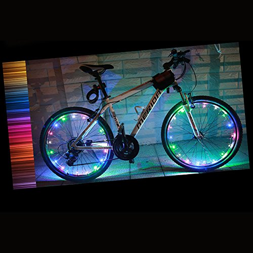 Mountainbikeusaub page 2 mountain bike usa a great selection caloics super cool led bike wheel lights for 100 brighter bicycle spokes rims tires best for safety fun style batteries included fandeluxe Gallery