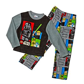 Lego Star Wars Boys Fleece Pajama Set (4)