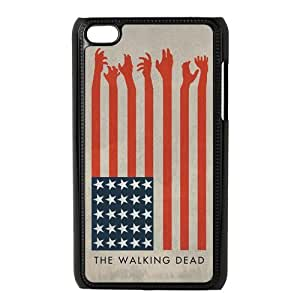 Custom The Walking Dead Hard Back Cover Case for ipod 4 OC-680