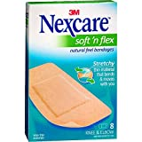 Nexcare Soft 'n Flex Bandages 8 Each (Pack of 25)