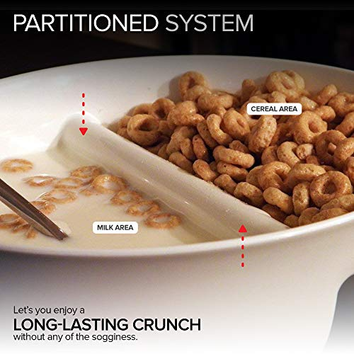 2 Pack - Just Crunch Anti-Soggy Cereal Bowl - Keeps Cereal Fresh & Crunchy | BPA Free | Microwave Sa - http://coolthings.us