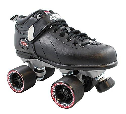 Sure-Grip Boxer Roller Skate Package -black sz 13