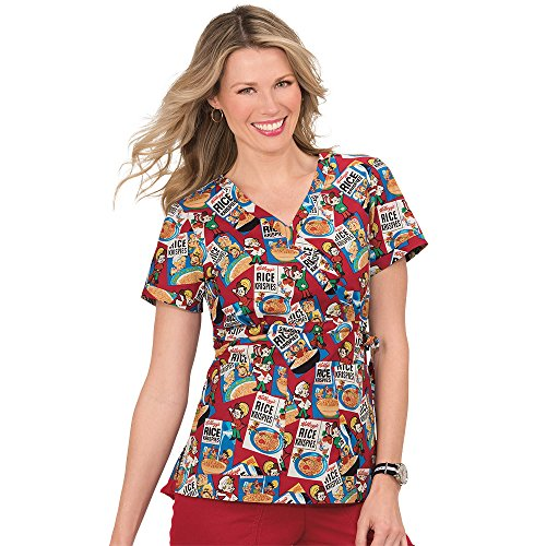 koi-by-kelloggs-womens-kathryn-mock-wrap-rice-krispies-print-scrub-top-xx-large-print