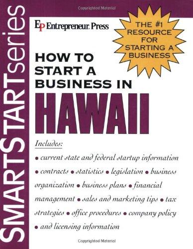 How to Start a Business in Hawaii (Smartstart Series)