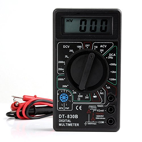 Home Product Ammeter Voltmeter Ohm Electrical Tester Meter Professional Digital Multimeter (Cake Tester Broom compare prices)