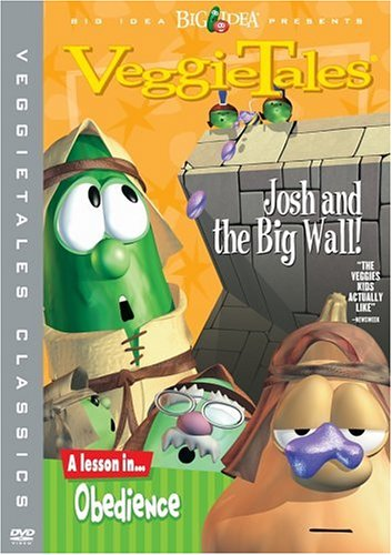 Amazon com: Veggie Tales: Josh and the Big Wall!: Mike