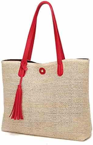 325449cd9384 Shopping 1 Star & Up - Straw - Reds - Handbags & Wallets - Women ...