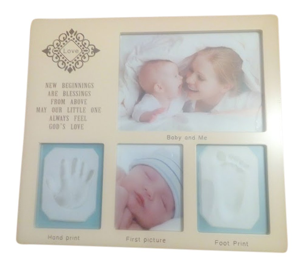 Baby Casting Kit for hand and foot print impression kit baby gift Boy/ Girl hand, christening gift, BB Gifts