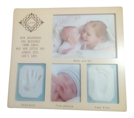 7db39ef850cf5 Kit de moulage pour bébé pour empreintes de main et pied Impression kit  bébé Cadeau Fille