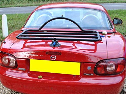 Mazda Miata Trunk Rack Unique Design, No Clamps No Straps No Brackets No Paint Damage