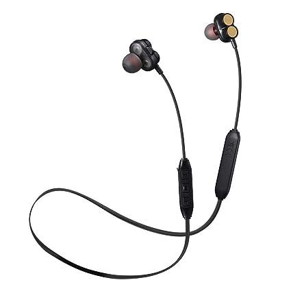 Hellycuche XG9 Bluetooth 4.2 + EDR Auriculares deportivos Estéreo Sonido Cancelación de ruido Captura clara de