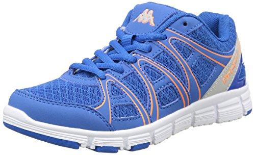 Kappa Ulaker - Zapatillas de deporte interior Unisex niños Azul - Bleu (Blue Royal/Orange)