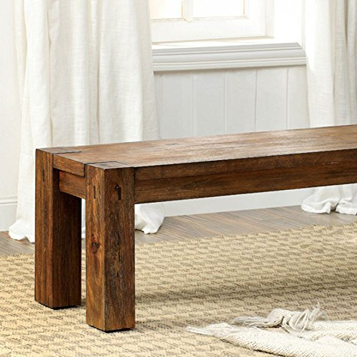 Furniture of America Frontier Bench