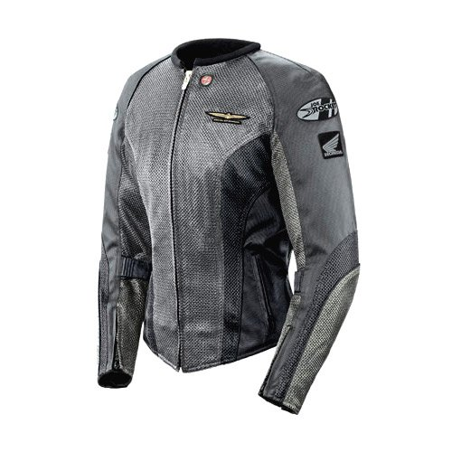 - Joe Rocket 'Skyline 2.0' Womens Silver/Grey Mesh Motorcycle Jacket - Large
