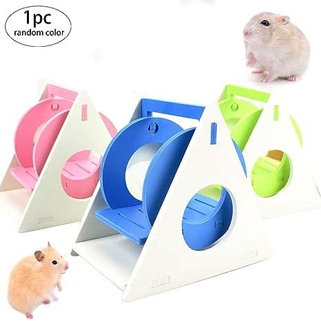 1pc Hamster Hamster Swing Escondite Y Escalera Rata Escalada Pequeños Juguetes Accesorios para Animales Los Jerbos Guinea Pig Chinchilla Hámster Sirio (Color Azar): Amazon.es: Productos para mascotas
