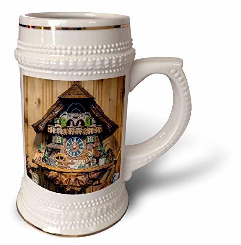 (Danita Delimont - Jim Engelbrecht - Clocks - Cuckoo clock for sale, Rothenburg, Germany - 22oz Stein Mug (stn_188522_1))
