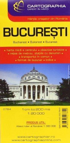 Bucharest City City Map By Cartographia 2012 01 01 Amazon Com