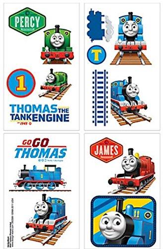 Thomas & Friends Tattoos ~ Thomas the Tank Engine Est. 1945! (16 Tattoos, 1 Sheet) (Best Best Friend Tattoos)