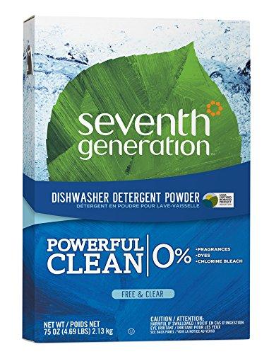 (SEV22151 - Free amp; Clear Automatic Dishwasher Powder, 75oz Box)
