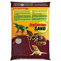 Reptile Sciences Terrarium Sand, 10-Pound, Burgundy