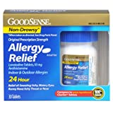 Good Sense Allergy Relief Loratadine Tablets, 10 mg, 30 Count Bottle
