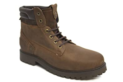 e5fe4a17a0ad G1079B Wrangler Creek Mens Lace Up Leather Worker Winter Ankle Boots Size  Uk 10
