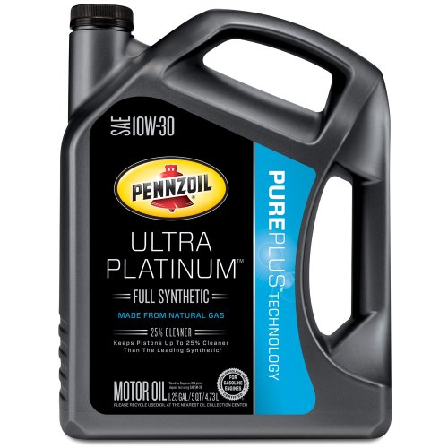 Authentic pennzoil 550038331 ultra platinum 10w 30 full for Pennzoil platinum 5w20 full synthetic motor oil