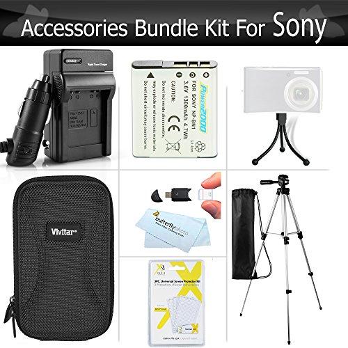 Essential Accessories Kit For Sony Cyber-shot DSC-W800, W800