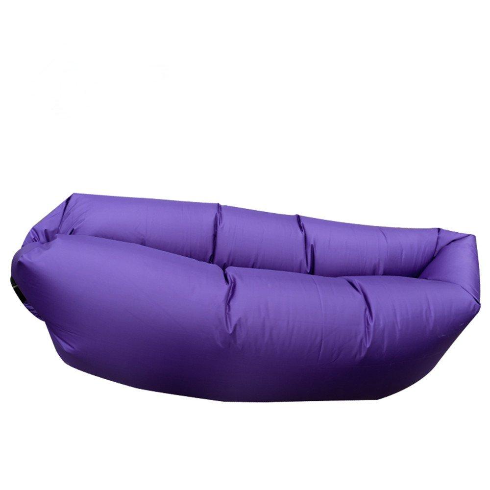 Mad sorrow Aufblasbares Sofa aufblasbares Bett Kissen faules Bett Mittagessen Bett Strand Bett Büro Klappbett Bett