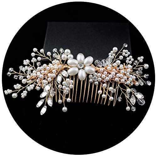 azaleas Wedding Hairpiece Hairband Hair Flower Hair Comb Headband Crystal Bridal Hair Vine Headband (HP143) (Apparel Azalea)